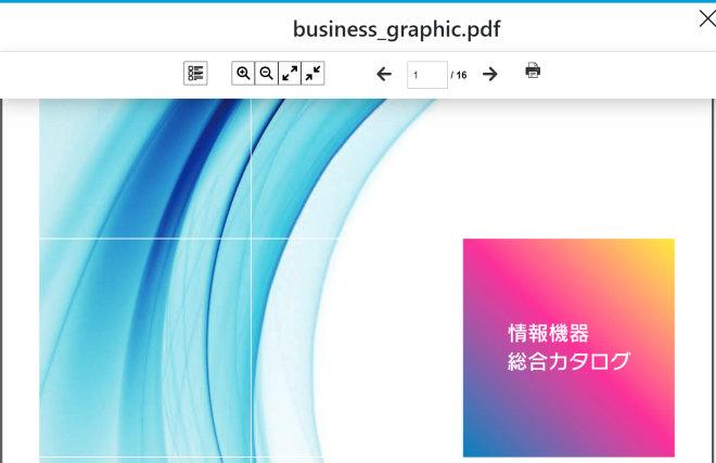 画像01:PDFファイルが表示される