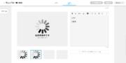 サムネイル01:画像・動画・PDFファイルアップロード中の表示について